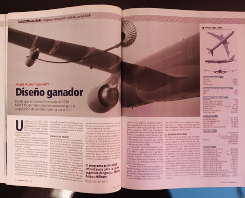 Diseño gráfico. Fly news magazine por Visual Thinking