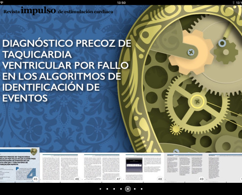 Revista Impulso. Revista para iPad Diseño web por Visual Thinking