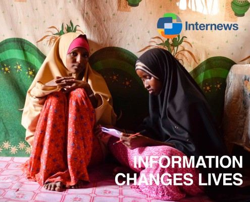 Internews brochure. Information changes lives